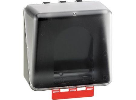SECU-Box Aufbewahrungs-Box SECU Midi ohne Gebotszeichen Farbe:transparent