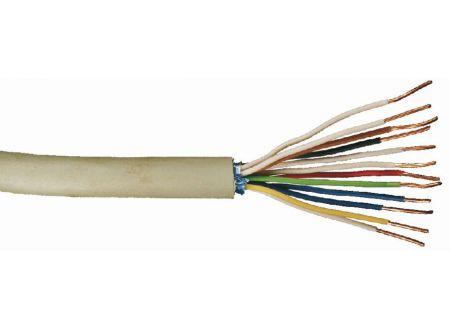 Telefonleitung J-Y ST Y grau Ausführung:6x2x0,6mm Länge:20m-Ring