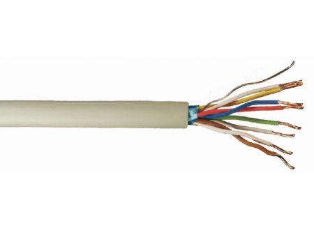 Telefonleitung J-Y ST Y grau Ausführung:4x2x0,6mm Länge:20m-Ring