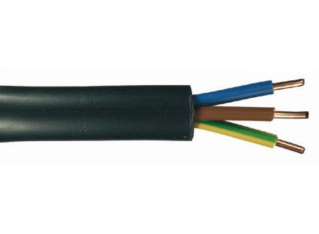 Erdkabel NYY-J schwarz Ausführung:3x2,5mm² Länge:50m-Ring