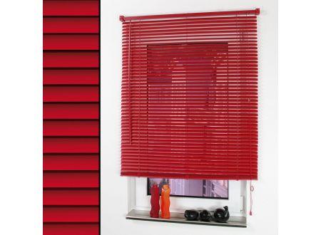 Liedeco Kunststoffjalousie, PVC-Jalousie 050 x 160cm rot bei handwerker-versand.de günstig kaufen