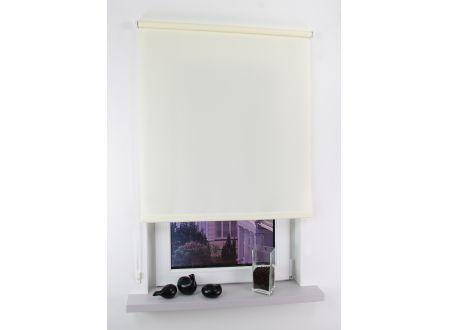 Liedeco Seitenzugrollo Easy Abmessungen:122 x 180cm Farbe:beige
