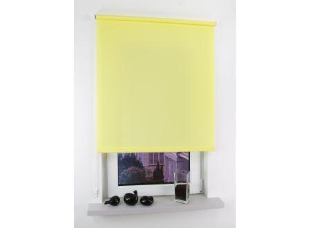 Liedeco Seitenzugrollo Easy 122 x 180cm gelb bei handwerker-versand.de günstig kaufen