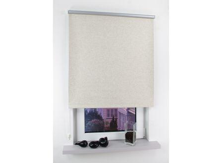 Liedeco Seitenzugrollo Easy 122 x 180cm leinen-silber bei handwerker-versand.de günstig kaufen