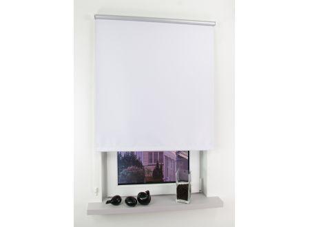 Liedeco Seitenzugrollo Easy 122 x 180cm weiß-silber bei handwerker-versand.de günstig kaufen