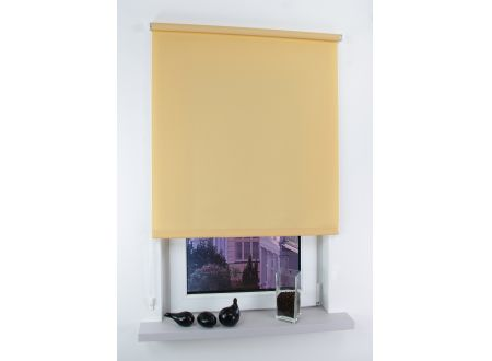 Liedeco Seitenzugrollo Easy Abmessungen:062 x 180cm Farbe:Apricot