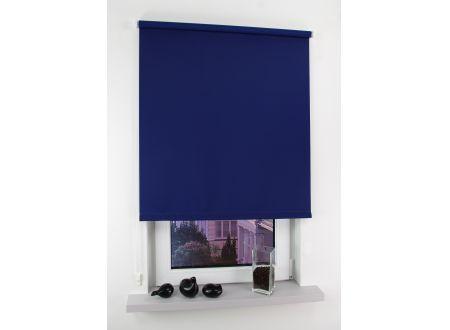 Liedeco Seitenzugrollo Easy 082 x 180cm blau bei handwerker-versand.de günstig kaufen
