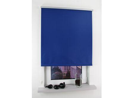 Liedeco Seitenzugrollo Easy 102 x 180cm blau-silber bei handwerker-versand.de günstig kaufen