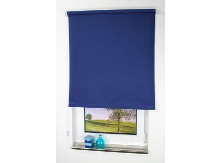 Liedeco Seitenzugrollo Tageslicht Abmessungen:112 x 180cm Farbe:dunkelblau