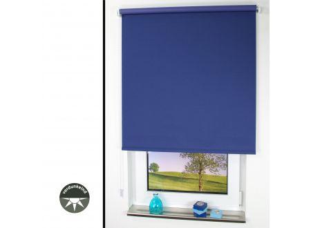 Liedeco Seitenzugrollo Verdunkelung 112 x 180cm dunkelblau bei handwerker-versand.de günstig kaufen