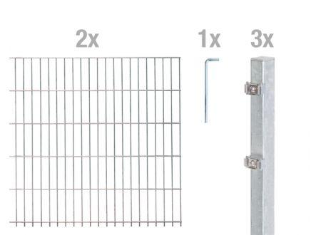 Doppelstab-Zaunmatten-Grundset bei handwerker-versand.de günstig kaufen