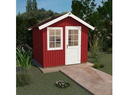 Weka Schwedenhaus Größe:Größe 1 Farbe:schwedenrot