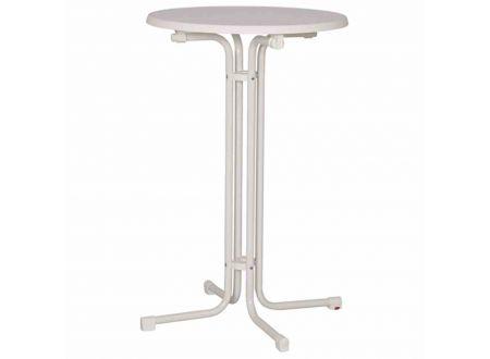 MFG Stehtisch Tischplatte aus Sevelit Größe:85x110cm Farbe:weiß