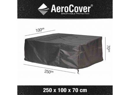 AEROCOVER Atmungsaktive Schutzhülle für Loungebänke Größe:250x100xH70cm