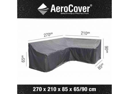 AEROCOVER Atmungsaktive Schutzhülle für Lounge-Sets Größe:270x210x85xH65/90cm