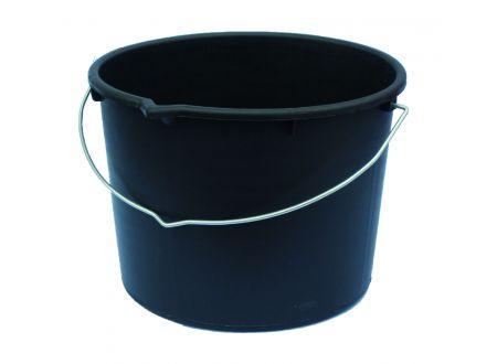 Baueimer schwarz Volumen:20l