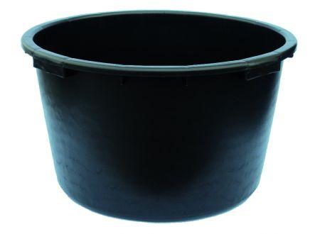 Mörtelkübel schwarz Volumen:65l