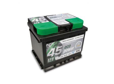 CARTEC Batterie Eco Power EFB 12V Kapazität:45Ah