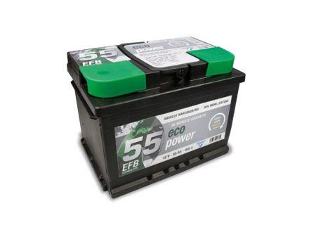 CARTEC Batterie Eco Power EFB 12V Kapazität:55Ah