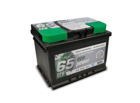 CARTEC Batterie Eco Power EFB 12V Kapazität:65Ah