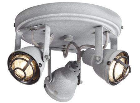 Bente Rondell grau Beton Ausführung:3-flammig Farbe:grau