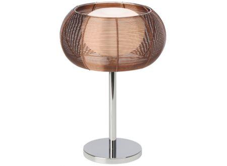 Brilliant Tischleuchte Relax Farbe:bronze/chrom