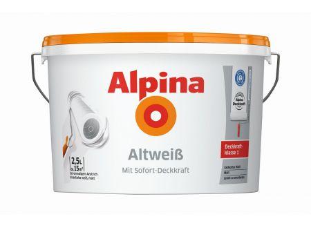 Alpina Wandfarbe Altweiß matt bei handwerker-versand.de günstig kaufen