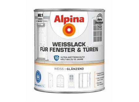 Alpina Weißlack für Fenster und Türen bei handwerker-versand.de günstig kaufen