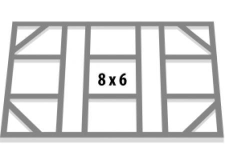 Fundamentbodenrahmen 8x6 Dream + Tower bei handwerker-versand.de günstig kaufen