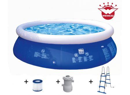 Quick Up Pool Set mit 300 gal Filterpumpe Größe:360x90cm