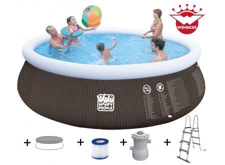 Quick Up Pool  Set mit 530 gal Filterpumpe Größe:450x106cm