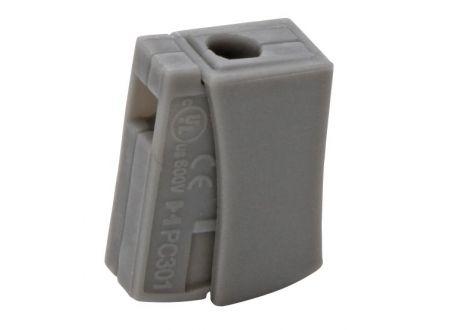 Leuchtenklemme 0,5-2,5mm 10 Stück Packung Ausführung:1-fach