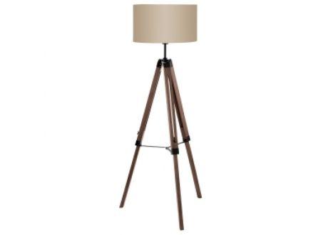 EGLO Stehlampe 1 Lantada Farbe:Nussbaum