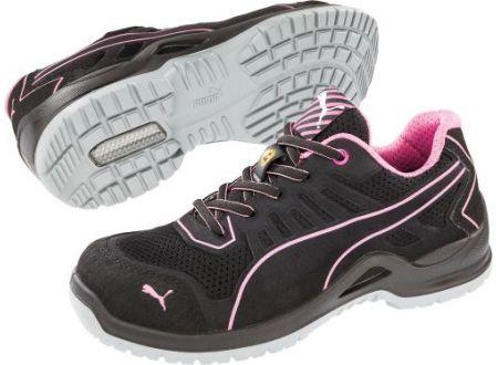 EDE Damen-Sicherheitshalbschuh Fuse TC Pink WNS Low 644110 Größe:36