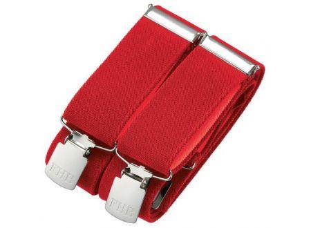 EDE Hosenträger Achim Farbe:rot