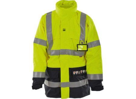 EDE Multinorm-Parka 4in1 Größe:L Farbe:marine/gelb