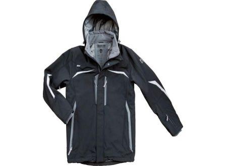 EDE Softshell-Winterjacke Allrounder Größe:S Farbe:schwarz/grau