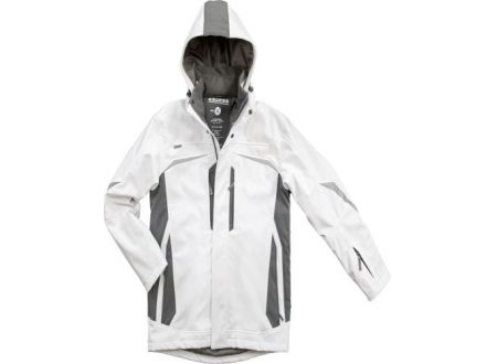 EDE Softshell-Winterjacke Allrounder Größe:XL Farbe:weiß/grau
