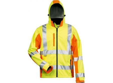EDE Warnschutz-Softshell-Jacke JIM Größe:XL