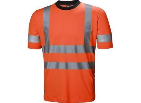 EDE Warn-T-Shirt ADDVIS Größe:S Farbe:leuchtorange