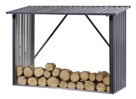 Metall-Kaminholzregal Größe:217x89x154,5cm