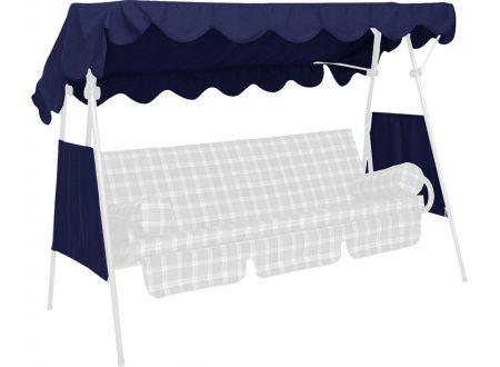 Sonnendach PE-Gewebe Größe:120 x 200cm Farbe:blau