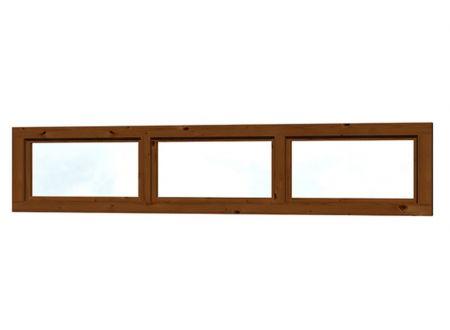 Skan Holz Oberlicht 147x30cm 147 x 30 cm Farbe:Nussbaum