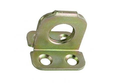 Ösenplatte gelb 45x45x2,0mm bei handwerker-versand.de günstig kaufen