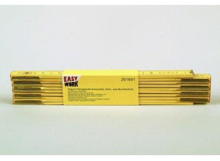 Easy Work Import-Holzgliedermassstab, 2m bei handwerker-versand.de günstig kaufen