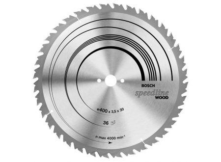 Bosch Kreissägeblatt 400x30 36WZ table SB3,5 Speedli bei handwerker-versand.de günstig kaufen