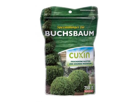 Cuxin Spezialdünger für Buchsbaum Minig 750g bei handwerker-versand.de günstig kaufen