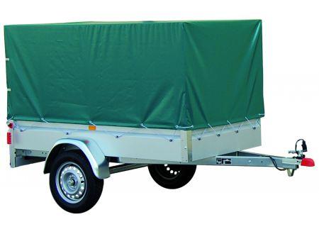 Hochplane und Hochspriegel im Set für PKW Anhänger BASIC 550 bei handwerker-versand.de günstig kaufen