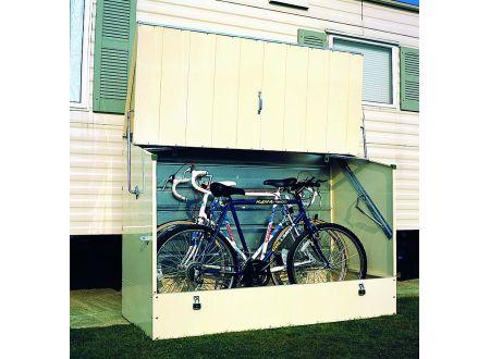 fahrradbox garten einebinsenweisheit. Black Bedroom Furniture Sets. Home Design Ideas