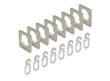 Liedeco Stilring eckig 16 mm mit Faltenlegehaken bei handwerker-versand.de günstig kaufen